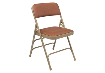 Vinyl Padded Folding Chair, 51666