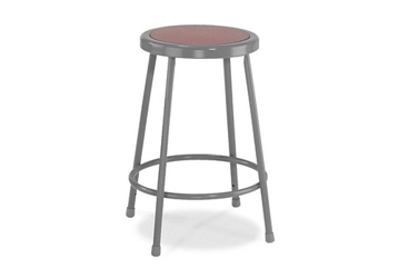 "24""H Stool with Masonite Seat, 51626"