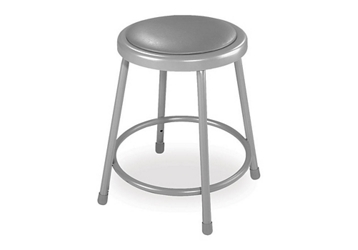 "18""H Stool with Vinyl Seat, 51628"