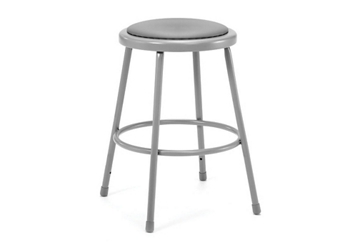 "24""H Stool with Vinyl Seat, 51629"