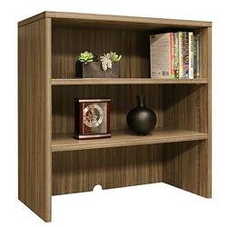 "Wood Grain Two Shelf Bookcase Hutch - 35.5""W, 14286"