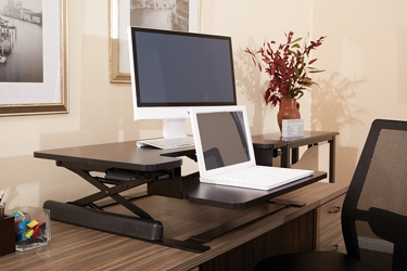 Bi-Level Desktop Riser with Keyboard Surface, 14661