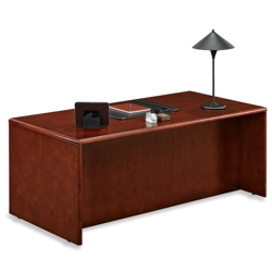"Double Pedestal Desk 72"" x 36"", 15829"