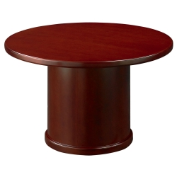 Round Conference Room Tables Shop Pedestal Tables For Executive - Small round meeting table and chairs