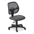 Mesh Back Task Chair with Vinyl Seat, 56801
