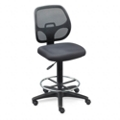 Mesh Back Stool with Vinyl Seat, 56824