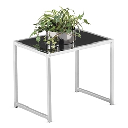 Glass Top End Table, 75939-1