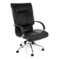 Sharp Series High-Back Leather Chair, 50725