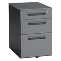 Steel Three Drawer Mobile File, 36327