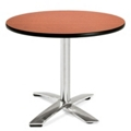 "Round Flip-Top Breakroom Table - 36"" , 41665"