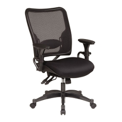 Ergonomic Chair with AirGrid Mesh Back and Fabric Seat, 56481