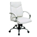 Mid Back Leather Manager's Chair, 50965
