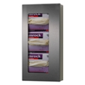 Peter Pepper Stainless Steel 3 Glove Box Wall Dispenser, 25578