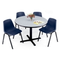 """Breakroom Table with Painted Base - 48"""" Square or Round, 44127"""