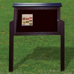 "Double Sided Outdoor Message Center - 40"" x 96"", 85693"