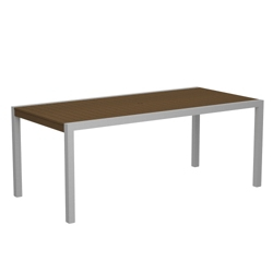 "73"" x 36"" Slatted Outdoor Table , 85897"