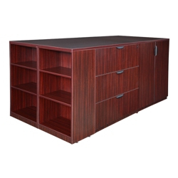 Standing Height Storage and Filing Island, 36146