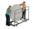 Table Caddy for Round Folding Tables, 41245