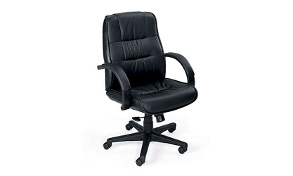 Mid-Back Leather Executive Chair, 50454
