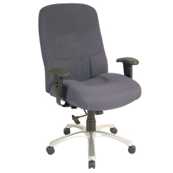 Big and Tall Mid-Back Chair, 50606