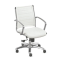 Modern Mid-Back Conference Chair, 52349-4