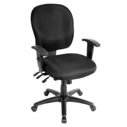 Fabric Ergonomic Task Chair, 56988
