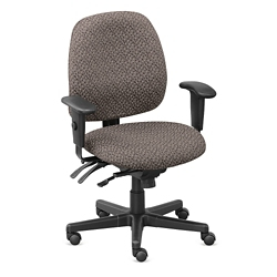 Upholstered Task Chair with Seat Slider - Hundreds of Colors Available, 56579
