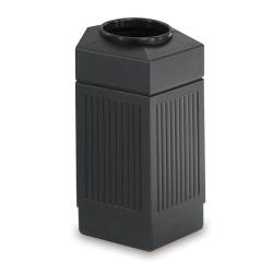 30 Gallon Pentagon Waste Receptacle, 90917