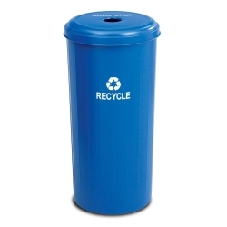 20-Gallon Steel Recycling Receptacle, 90961