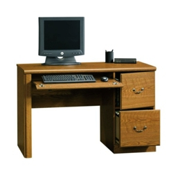 "Compact Single Pedestal Desk - 47.25""W, 13055"