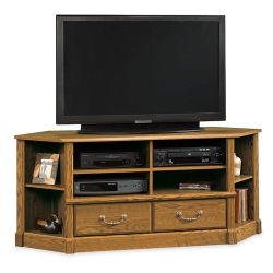 Carolina Oak Corner TV Stand, 13068