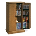 Carolina Oak Multimedia Storage Cabinet, 13069