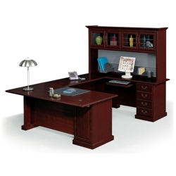 Executive U-Desk with Hutch, 13088