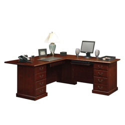 Traditional Reversible L-Desk, 13163