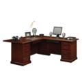 Traditional Reversible L-Desk, 13163