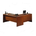 "L-Desk with 48""W Return, 16104"