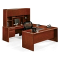 Executive U-Desk with Hutch, 15913