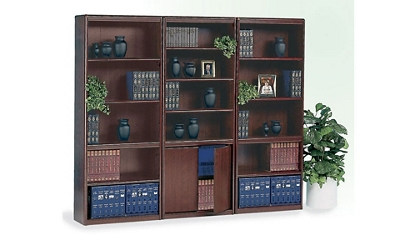 Classic Cherry Bookcase Wall, 32327