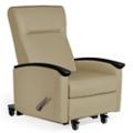 Harmony Rocker Recliner with Casters, 25416