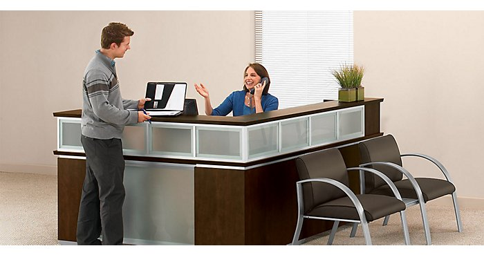 3 Problems the Right Reception Desk Can Solve