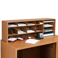Woodgrain Desktop Organizer, 33345
