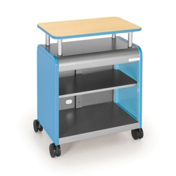 Presentation Cart with Riser, 43193