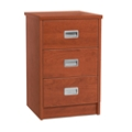 "19"" Wide Behavioral Health Three-Drawer Bedside Cabinet, 25724"