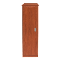 Behavioral Health Single Wardrobe Cabinet with Left Hinge Door, 25727