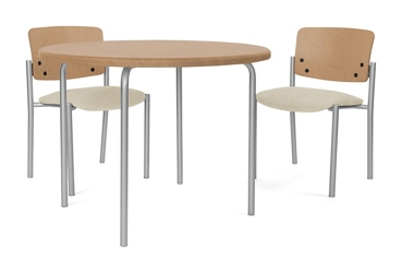 "Round Pediatric Table - 30""DIA, 26733"