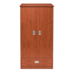 Behavioral Health Double Door Wardrobe Cabinet, 25730