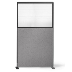 "66""H x 36""W Freestanding Panel with Plexiglass Insert, 20975"