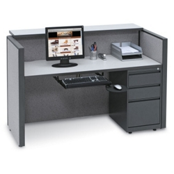 Compact Reception Desk, 20980
