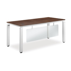 Pacifica Collection Compact Desk with Modesty Panel, 12026