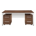 Pacifica Collection Double Pedestal Executive Desk, 10345